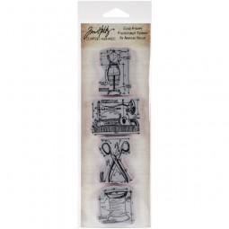 Tim Holtz Mini Blueprint Strip Sewing
