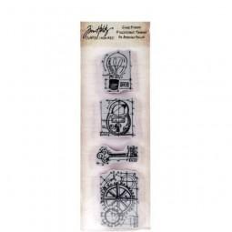 Tim Holtz Mini Blueprint Strip Industrial