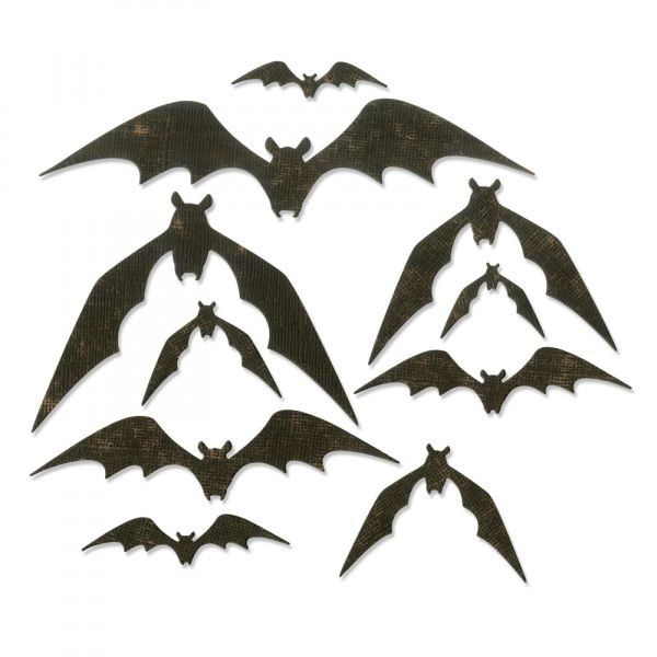Sizzix Tim Holtz Alterations Thinlits Bat Crazy