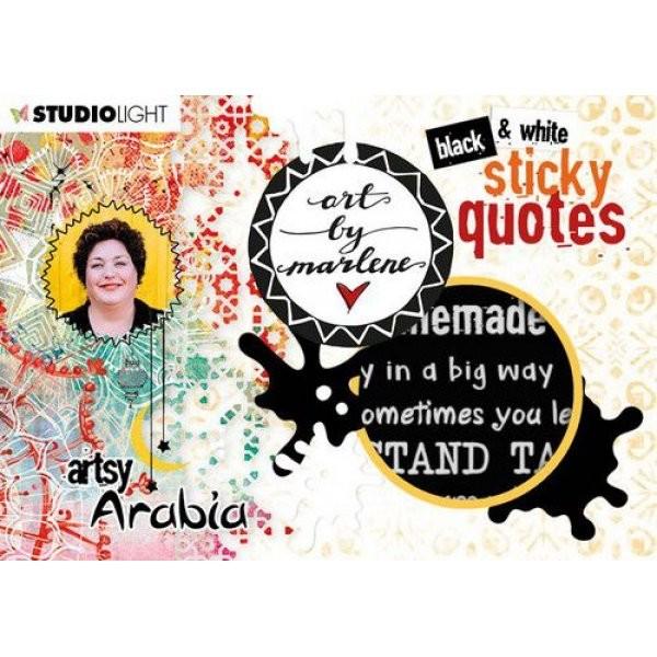 Studio Light Art by Marlene Sticky Quotes Artsy Arabia