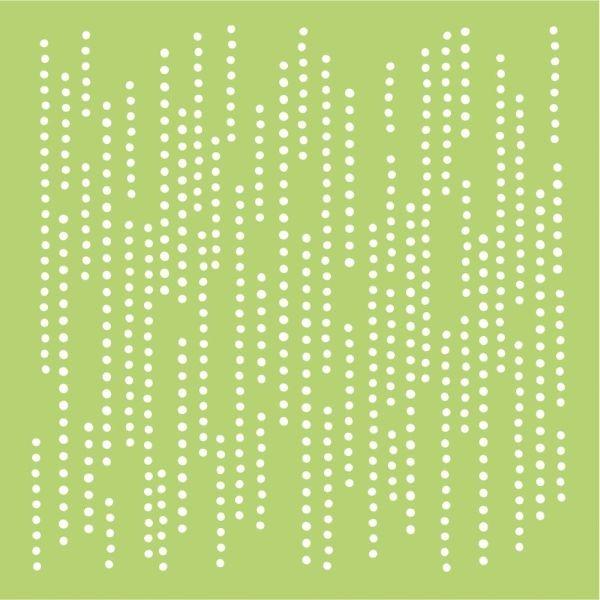 Kaisercraft Designer Template 6x6 Dotted Lines