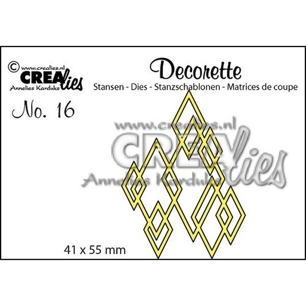 CreaLies Decorette No. 16