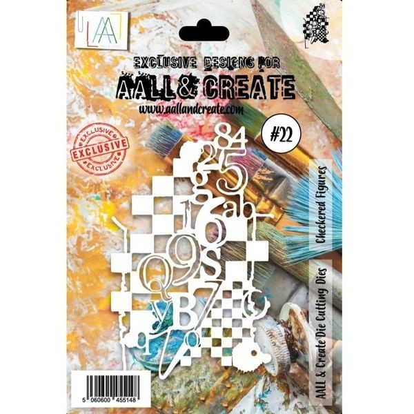 AALL & Create Die-Cutting Set #22 Checkered Figures