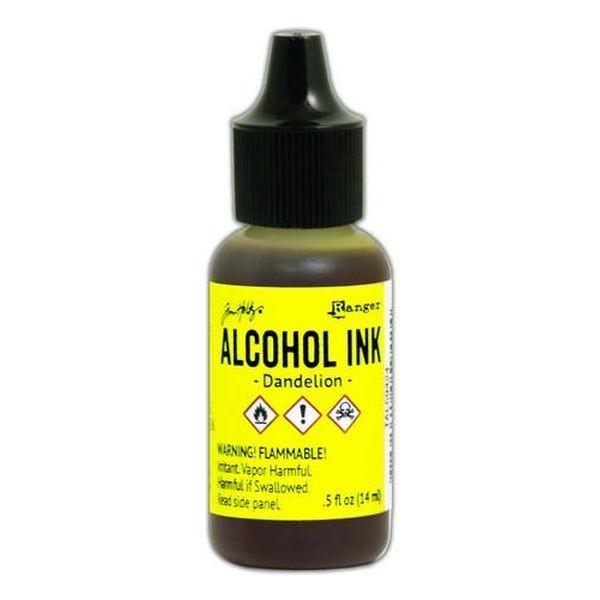 Tim Holtz Alcohol Ink Dandelion