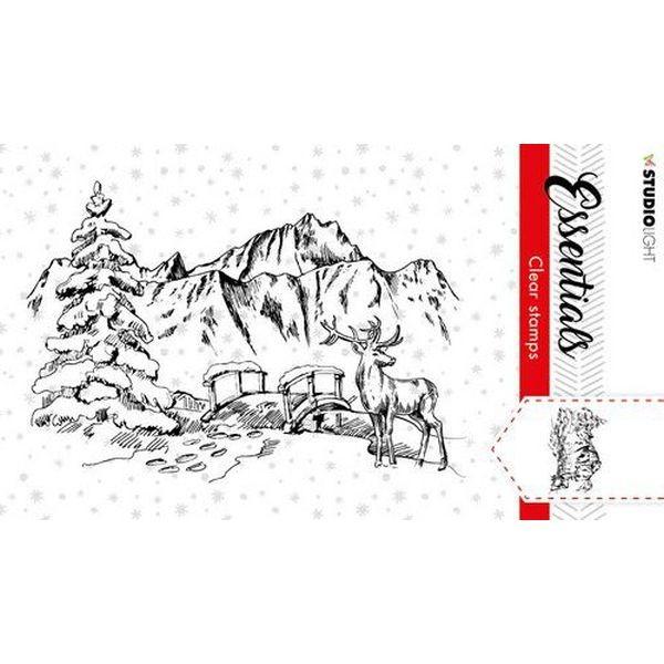 Studio Light Christmas Essentials Clearstamps A7 No. 91