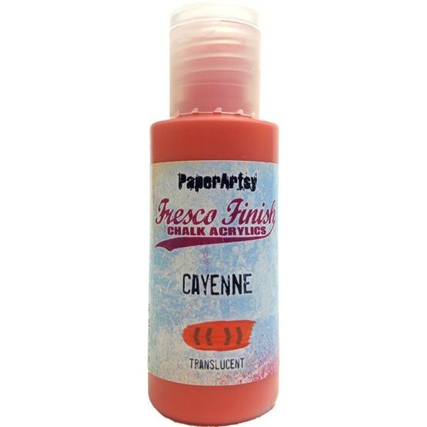 Fresco Finish Cayenne - Translucent
