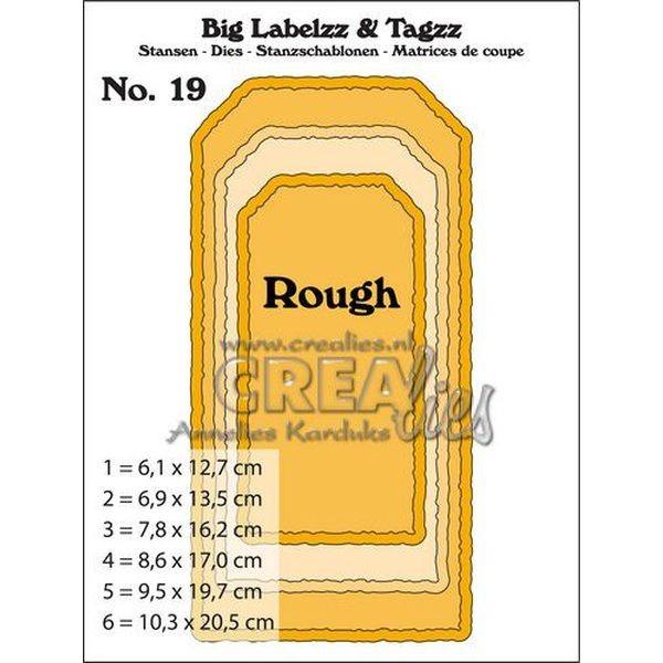 CreaLies Big Labelzz & Tagzz No. 19 Rough