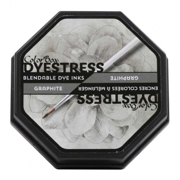 Color Box Dyestress Ink Pad Graphite