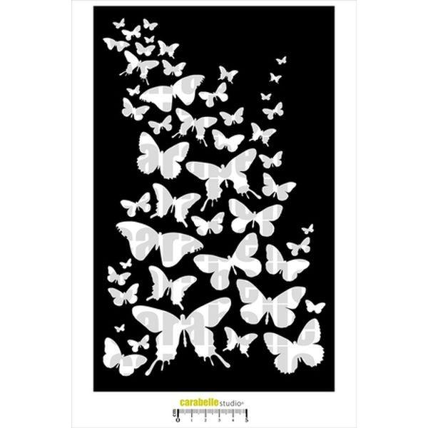 Carabelle Studio Art Template XL Envolee de Papillons