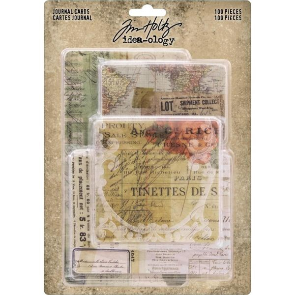 Tim Holtz Journal Cards
