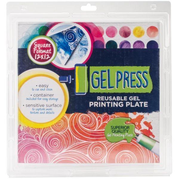 Gel Press Gel Plate 12x12