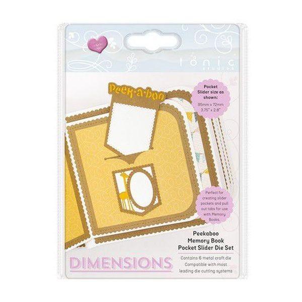 Tonic Studios Die Dimensions Peekaboo Slider Set