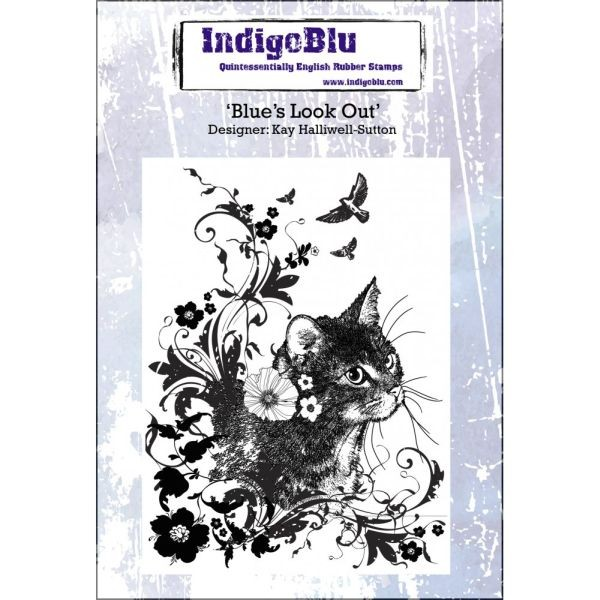 Indigo Blu Clingstamps Blue´s Look Out