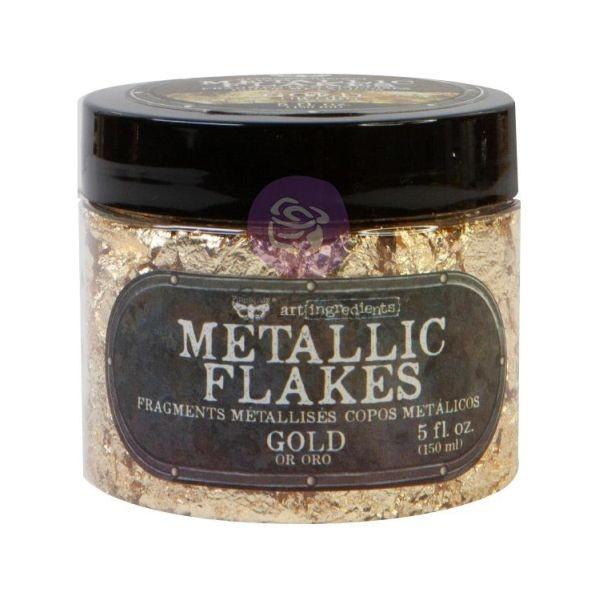 Finnabair Art Ingredients Metallic Flakes Gold