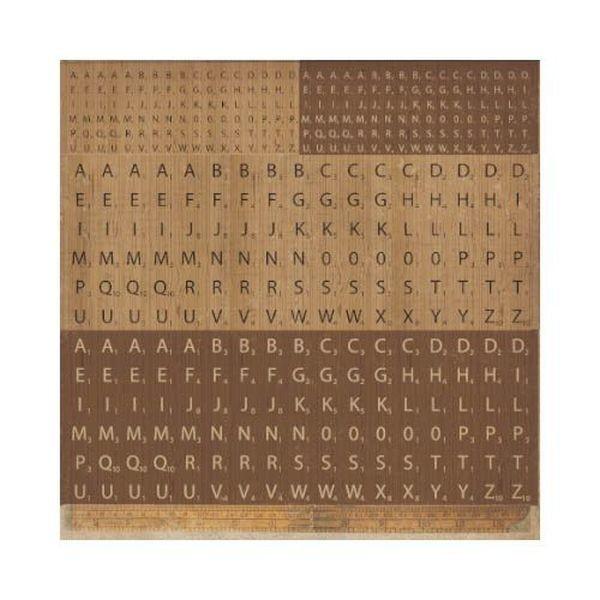 Kaisercraft Timeless Scrabble Sticker Sheet
