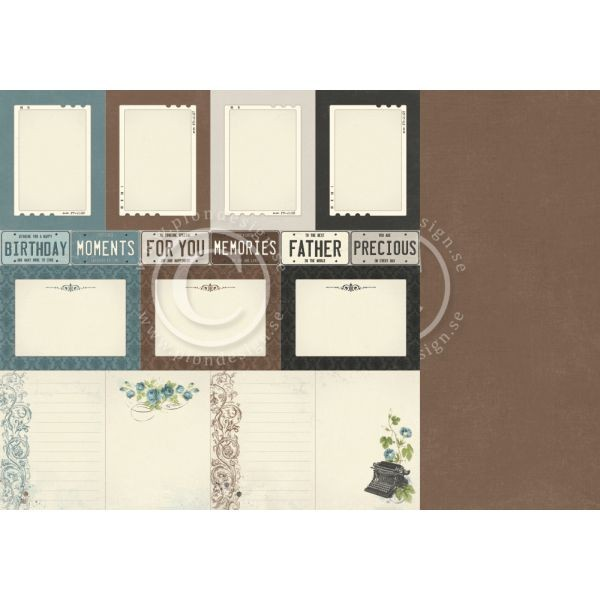 Pion Design Mister Tom´s Treasures Memory Notes
