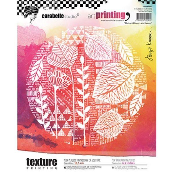 Carabelle Studio Art Printing Abstract Flowers & Leaves