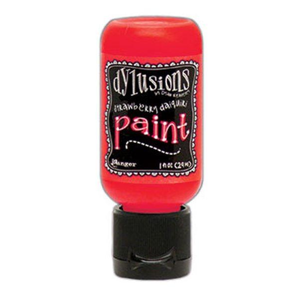 Dylusions Flip Cap Paint Strawberry Daiquiri