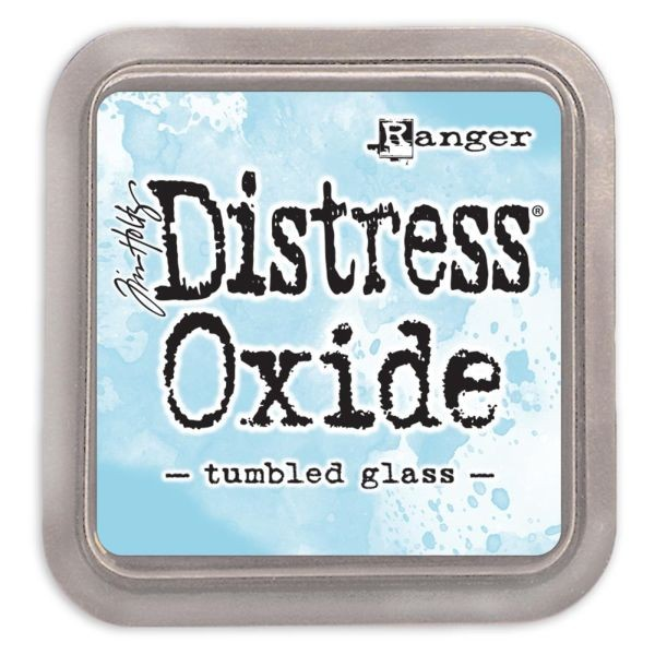 Tim Holtz Distress Oxide Pad Tumbled Glass
