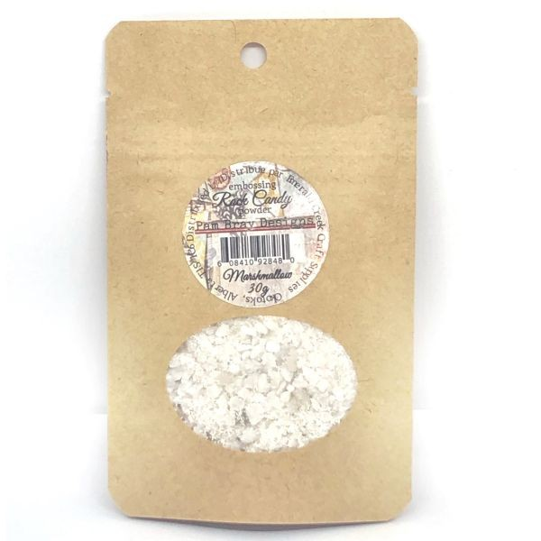 Pam Bray Designs Rock Candy Embossing Powder Marshmallow
