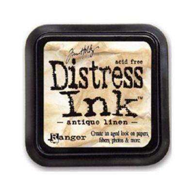Distress Ink Mini Pad Antique Linen