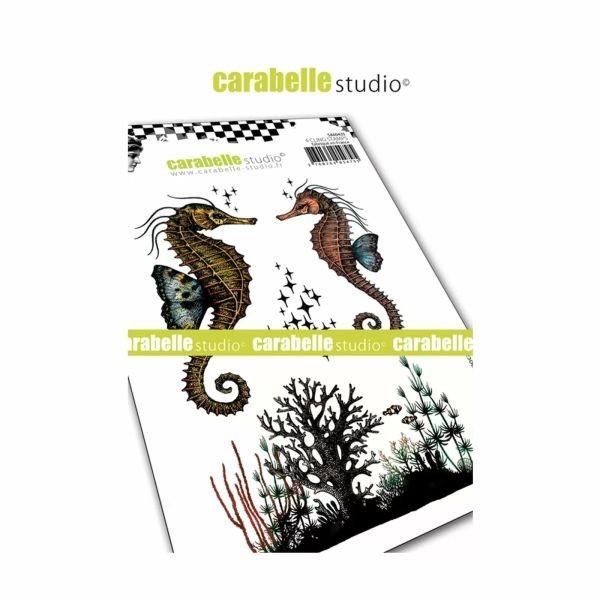 Carabelle Studio Tampon Art Stamp A6 Hippocampes