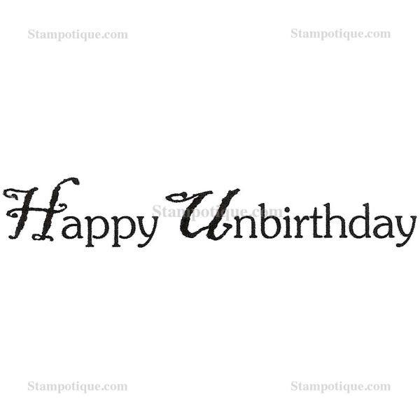 Stampotique Originals Happy Unbirthday