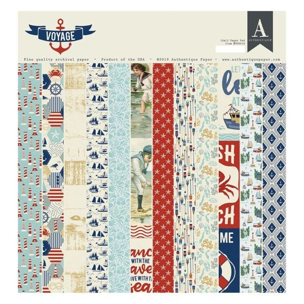 Authentique Voyage Paper Pad 12x12