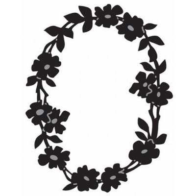 Marianne D Craftables Flowerframe Oval