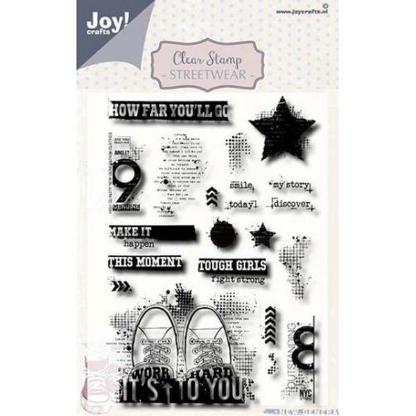 Joy! Crafts Clear Stamps Noor Design Streetwear