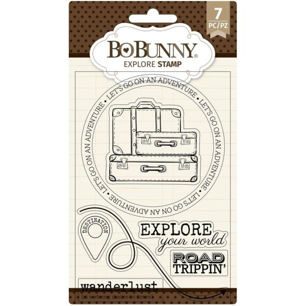 BoBunny Press Essentials Stamps Explore