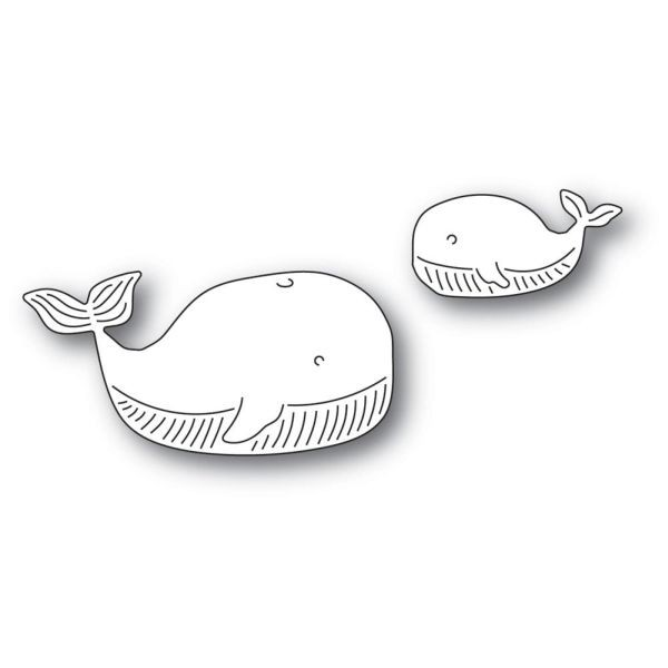 Memory Box Craft Die Whale Family