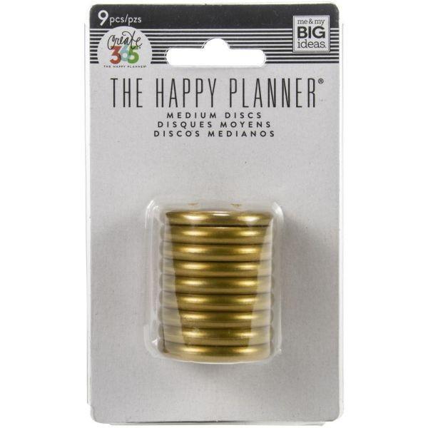 The Happy Planner Discs 1.25 Gold