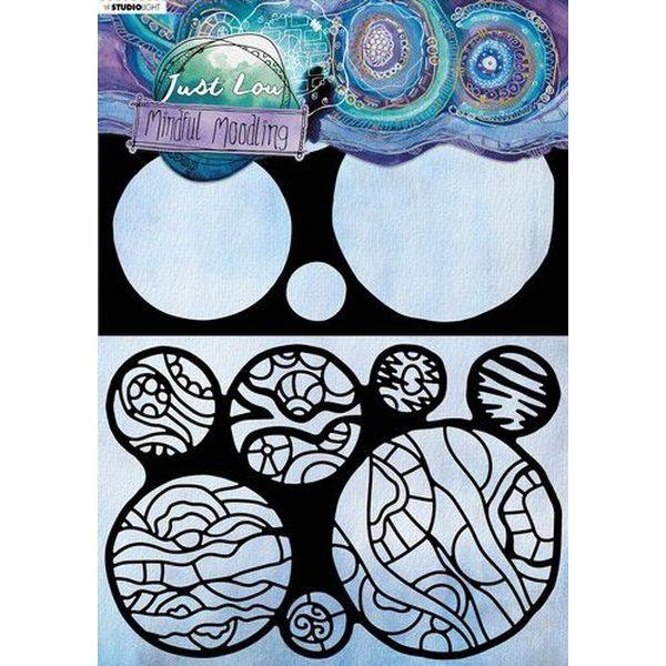 Studio Light Mindful Moodling Mask Stencil No. 22