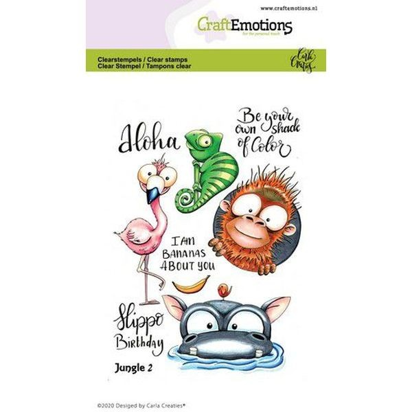 Craft Emotions Clearstamps Jungle No. 2