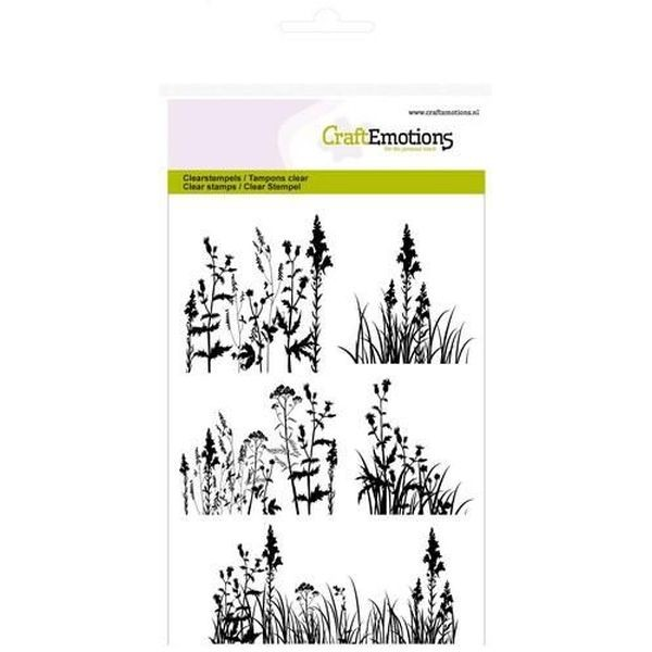 Craft Emotions Clearstamps Grasses Herbs