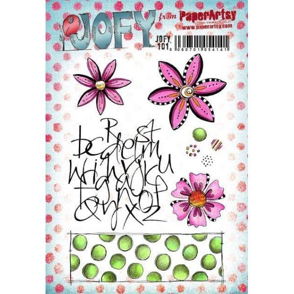Paper Artsy JOFY Plate 101