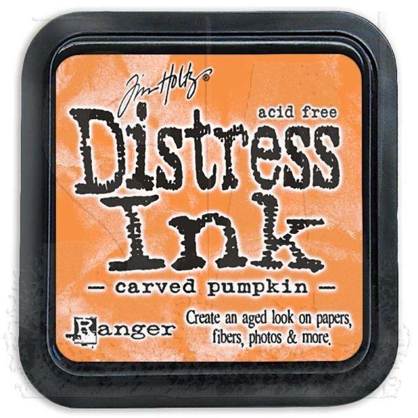 Distress Ink Mini Pad Carved Pumpkin