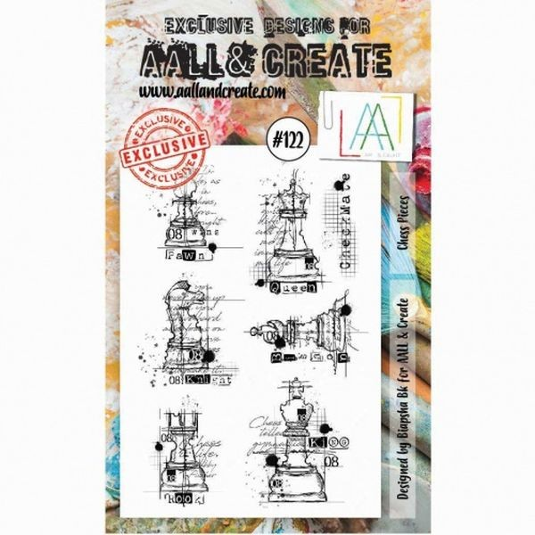 AALL & Create Clearstamps No. 122