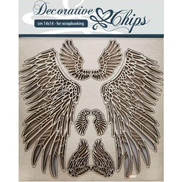 Stamperia Decorative Chips Wings