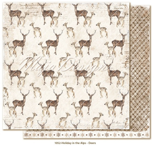 Maja Design Holiday in the Alps - Deers
