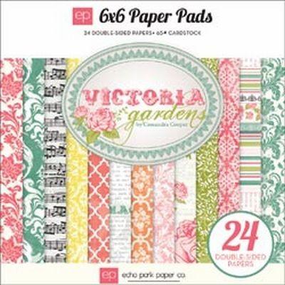 Echo Park Victoria Garden Paperpad