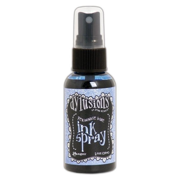 Dylusions Ink Spray Periwinkle Blue