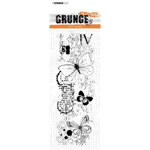 Studio Light Clearstamps Grunge Collection No. 406