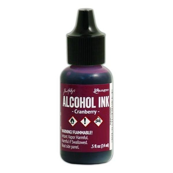 Tim Holtz Alcohol Ink Cranberry