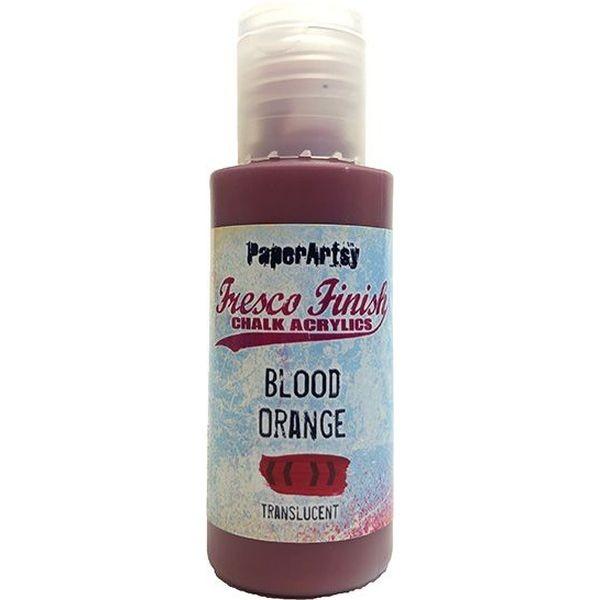 Fresco Finish 12 Coral Pinks Blood Orange - Translucent