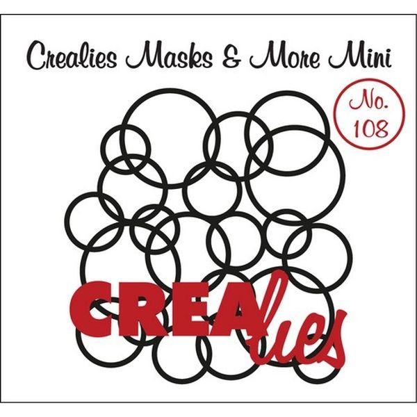 CreaLies Masks & More Mini No. 108 Interlocking Circles
