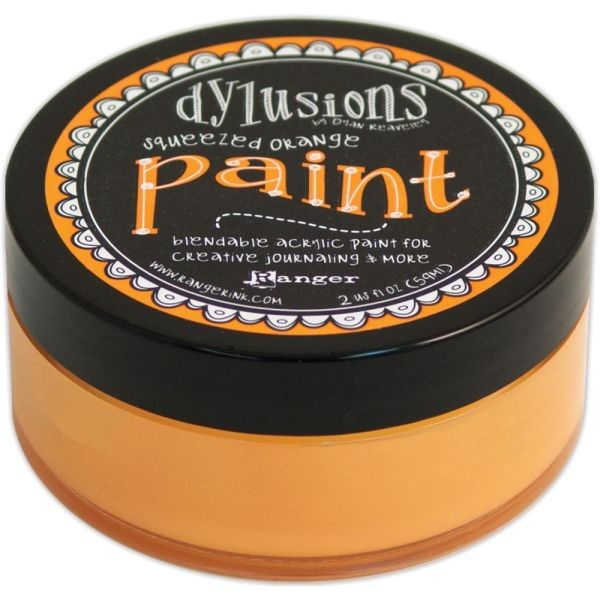 Dylusions Paint Squeezed Orange