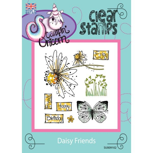 Stampin´ Unicorn Clearstamps Daisy Friends