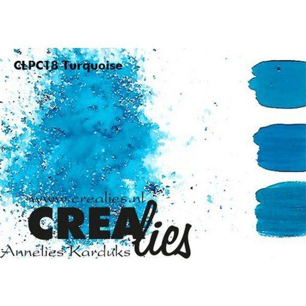 Crealies Pigment Colorzz Turquoise